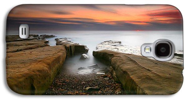 Sun Galaxy S4 Cases - La Jolla Reef Sunset 2 Galaxy S4 Case by Larry Marshall