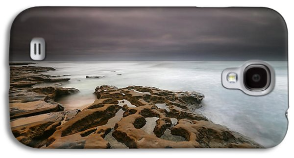 Sun Galaxy S4 Cases - La Jolla Reef Sunset 5 Galaxy S4 Case by Larry Marshall