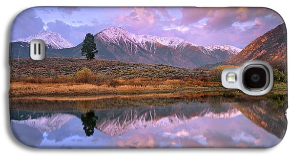Mountain Photographs Galaxy S4 Cases - La Plata And Twin Peaks In The Sawatch Galaxy S4 Case by Tim Fitzharris
