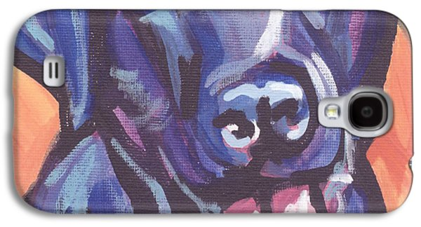 Puppies Galaxy S4 Cases - Lab Love Galaxy S4 Case by Lea