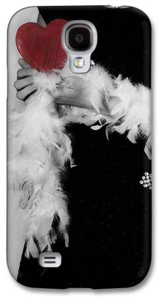 Lady With Heart Galaxy S4 Case by Joana Kruse