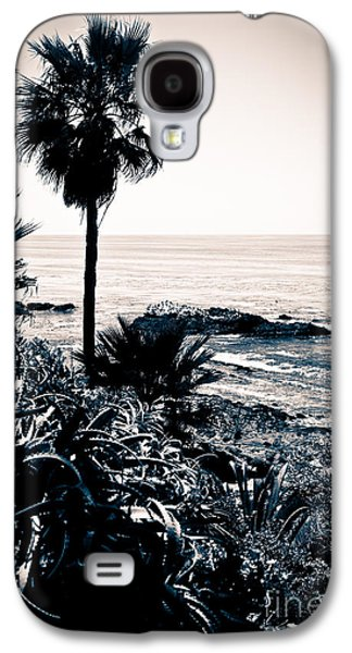 Getaway Galaxy S4 Cases - Laguna Beach California Black and White Galaxy S4 Case by Paul Velgos