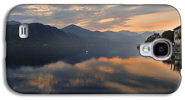 Mountain View Galaxy S4 Cases - Lake Orta Galaxy S4 Case by Joana Kruse