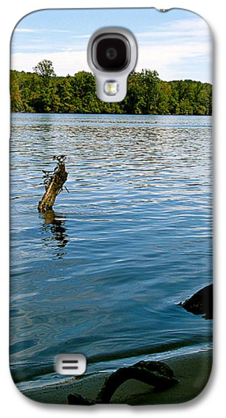 A Summer Evening Landscape Galaxy S4 Cases - Lakeview   Galaxy S4 Case by Debra     Vatalaro