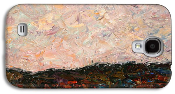 Impressionist Paintings Galaxy S4 Cases - Land and Sky Galaxy S4 Case by James W Johnson