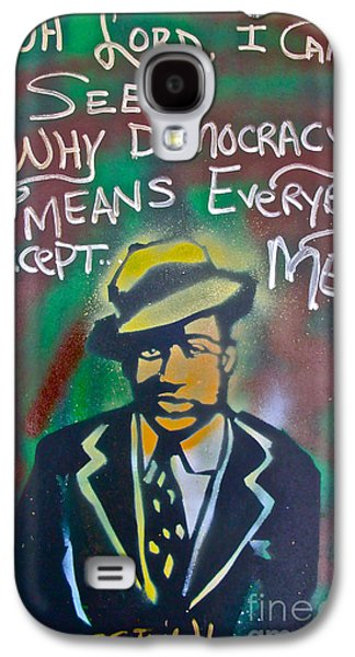 First Amendment Paintings Galaxy S4 Cases - Langston Hughes Galaxy S4 Case by Tony B Conscious