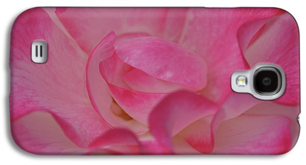 Galaxy S4 Cases - Large Rose Center Galaxy S4 Case by Shirley Heyn