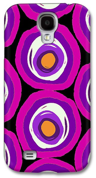 Bass Digital Art Galaxy S4 Cases - Large Scale Spots Galaxy S4 Case by Louisa Knight