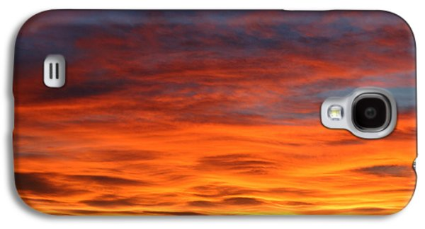 Sunset Framed Prints Galaxy S4 Cases - Las Cruces Sunset Galaxy S4 Case by Jack Pumphrey