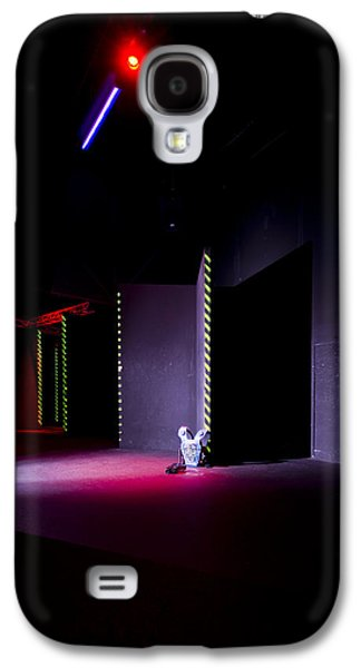 Electrical Equipment Photographs Galaxy S4 Cases - Laser Game Playing Space With Narrow Galaxy S4 Case by Corepics