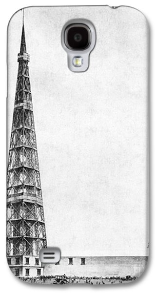 Bryant Park Galaxy S4 Cases - Latting Observatory, Nyc, 1850s Galaxy S4 Case by Science Source