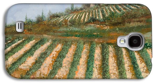 Fall Grass Galaxy S4 Cases - Le Case Nella Vigna Galaxy S4 Case by Guido Borelli