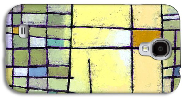 Abstracted Galaxy S4 Cases - Lemon Squeeze Galaxy S4 Case by Douglas Simonson