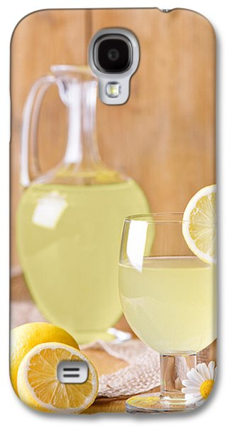 Juice Galaxy S4 Cases - Lemonade Galaxy S4 Case by Amanda And Christopher Elwell