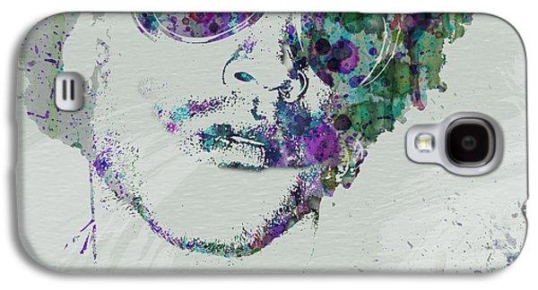 Soul Paintings Galaxy S4 Cases - Lenny Kravitz Galaxy S4 Case by Naxart Studio