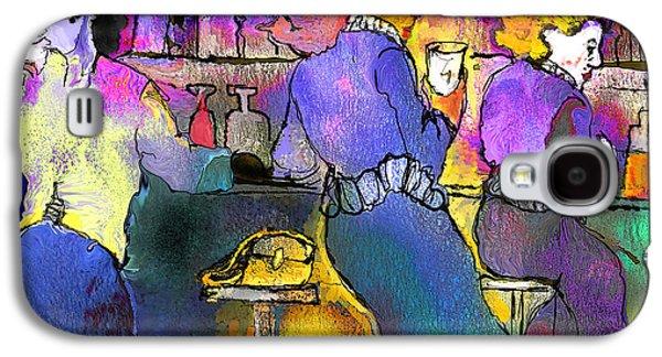 Prostitutes Paintings Galaxy S4 Cases - Les Filles du Cafe de La Nuit Galaxy S4 Case by Miki De Goodaboom