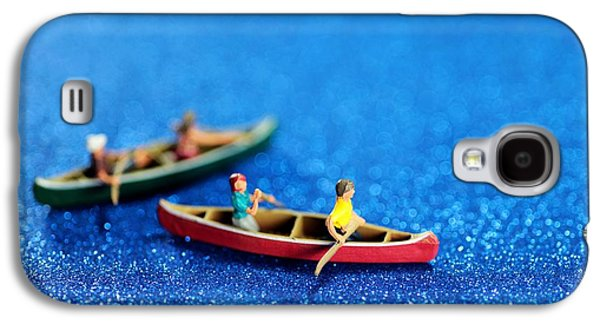Toy Boat Digital Art Galaxy S4 Cases - Lets boating together Galaxy S4 Case by Paul Ge