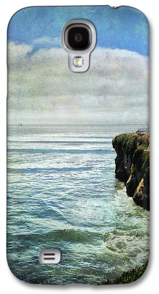 Santa Cruz Ca Galaxy S4 Cases - Life Is Bigger Galaxy S4 Case by Laurie Search
