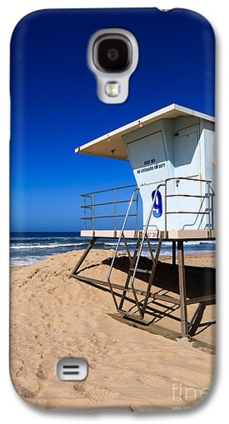 Getaway Galaxy S4 Cases - Lifeguard Tower Photo Galaxy S4 Case by Paul Velgos