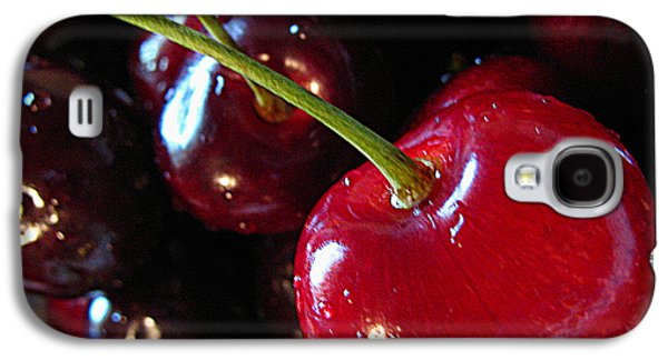 Original Art Photographs Galaxy S4 Cases - Lifes a Bowl of Cherries Galaxy S4 Case by Colleen Kammerer