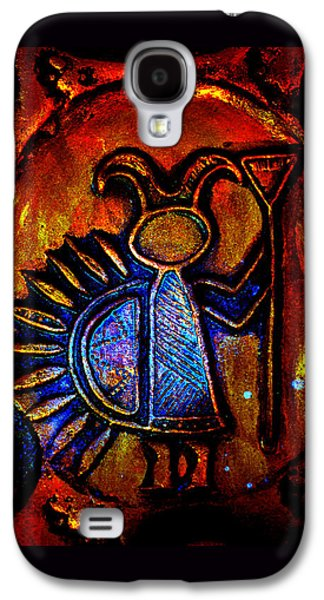 Landmarks Ceramics Galaxy S4 Cases - Light Bringer Galaxy S4 Case by Susanne Still