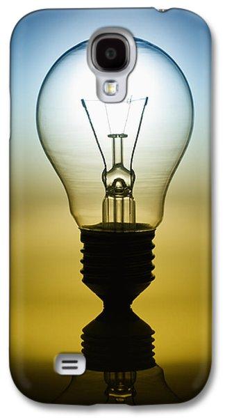 Clever Galaxy S4 Cases - Light Bulb Galaxy S4 Case by Setsiri Silapasuwanchai