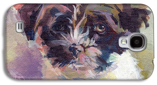 Toy Dog Galaxy S4 Cases - Lilly Pup Galaxy S4 Case by Kimberly Santini