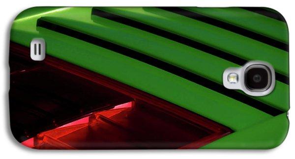 Green Digital Galaxy S4 Cases - Lime Light Galaxy S4 Case by Douglas Pittman