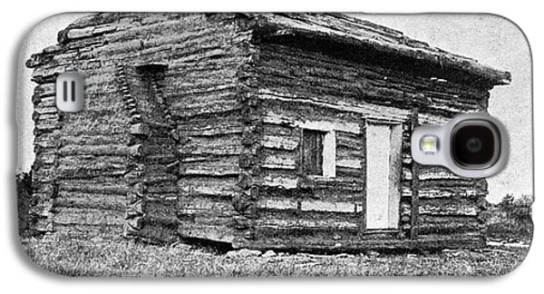 Log Cabin Photographs Galaxy S4 Cases - Lincolns Birthplace Galaxy S4 Case by Granger