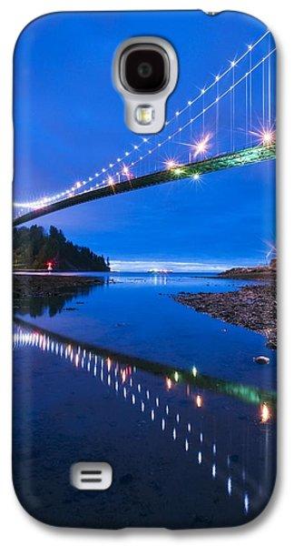 Burrard Inlet Galaxy S4 Cases - Lions Gate Bridge, Vancouver, Canada Galaxy S4 Case by David Nunuk