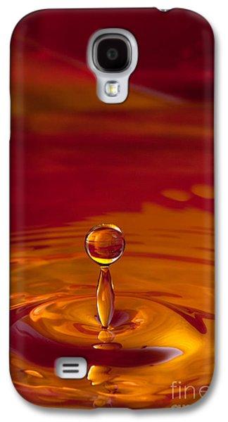 Liquid Art Galaxy S4 Case by Cindy Singleton