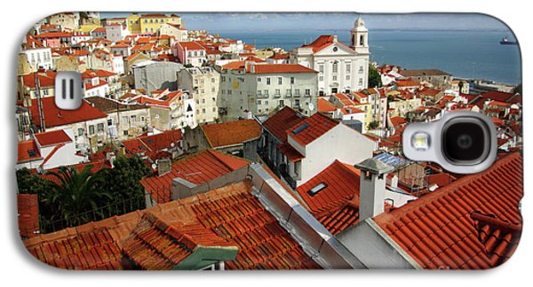 Ancient Galaxy S4 Cases - Lisbon Rooftops Galaxy S4 Case by Carlos Caetano