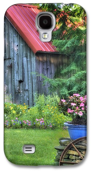 Old Barn Galaxy S4 Cases - Litchfield Hills Summer Scene Galaxy S4 Case by Thomas Schoeller