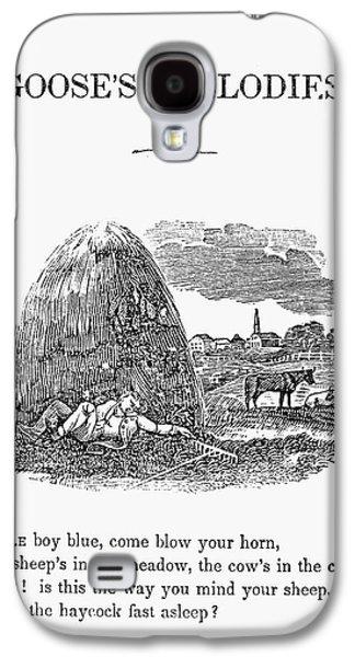 Munroe Galaxy S4 Cases - Little Boy Blue, 1833 Galaxy S4 Case by Granger