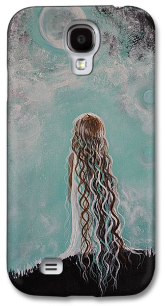 Best Sellers -  - Constellations Paintings Galaxy S4 Cases - Little Galaxie Galaxy S4 Case by Leslie Allen