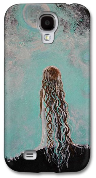 Best Sellers -  - Constellations Paintings Galaxy S4 Cases - Little Galaxie Three Galaxy S4 Case by Leslie Allen
