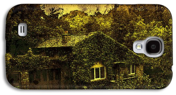 Creepy Digital Art Galaxy S4 Cases - Little House Galaxy S4 Case by Svetlana Sewell