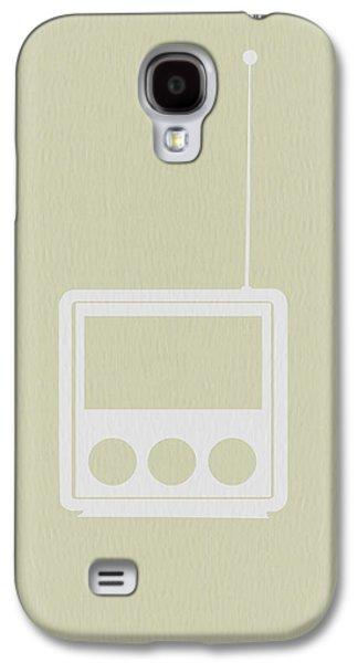 Radio Galaxy S4 Cases - Little Radio Galaxy S4 Case by Naxart Studio