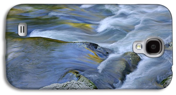 White River Scene Photographs Galaxy S4 Cases - Little River Great Smoky Mountains Galaxy S4 Case by Dean Pennala