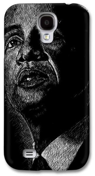 Barack Galaxy S4 Cases - Living the Dream Galaxy S4 Case by Maria Arango