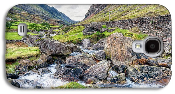 Hdr Landscape Galaxy S4 Cases - Llanberis Pass Galaxy S4 Case by Adrian Evans