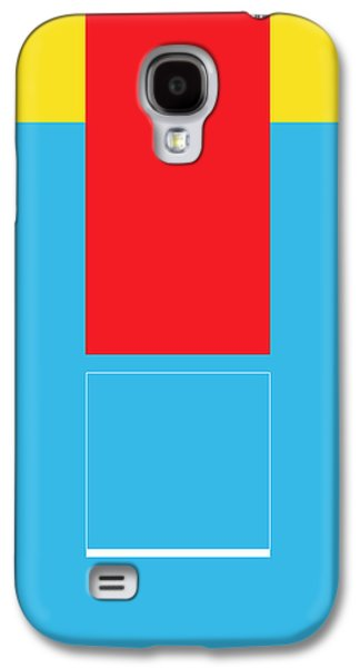 Modern Abstract Galaxy S4 Cases - Lode Galaxy S4 Case by Naxart Studio