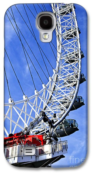 Capsule Galaxy S4 Cases - London Eye Galaxy S4 Case by Elena Elisseeva