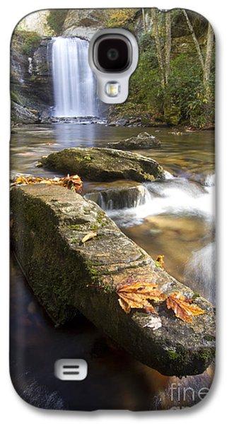 Look Galaxy S4 Cases - Looking Glass Falls North Carolina Galaxy S4 Case by Dustin K Ryan