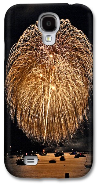 4th July Galaxy S4 Cases - Lopez Island Fireworks 1 Galaxy S4 Case by David Salter