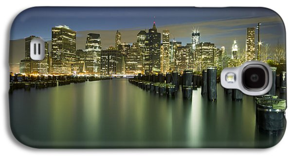City Lights Galaxy S4 Cases - Lost In Yesterday Galaxy S4 Case by Evelina Kremsdorf
