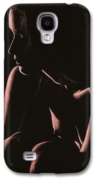 Fine Art Pastels Galaxy S4 Cases - Lost Galaxy S4 Case by Richard Young