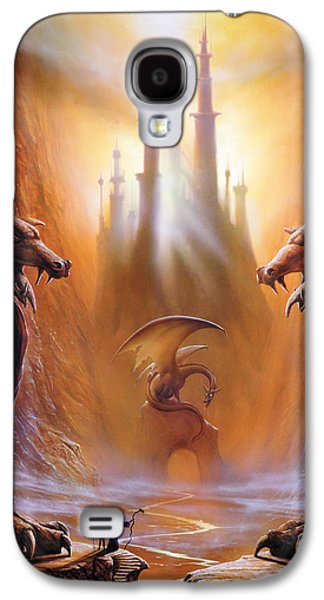 Dragon Photographs Galaxy S4 Cases - Lost Valley Galaxy S4 Case by The Dragon Chronicles - Garry Wa