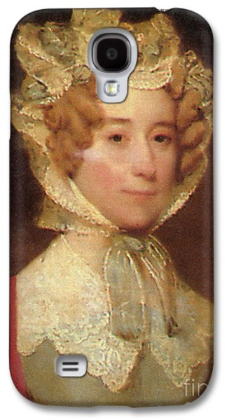 First Lady Galaxy S4 Cases - Louisa Adams Galaxy S4 Case by Photo Researchers