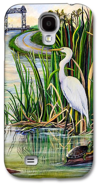 Wetlands Galaxy S4 Cases - Louisiana Wetlands Galaxy S4 Case by Elaine Hodges